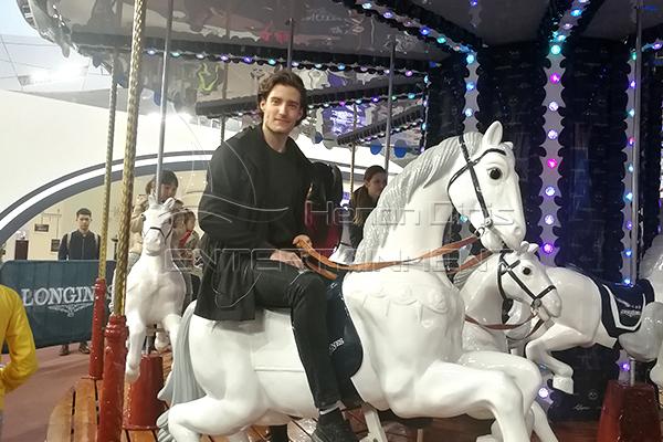 Longines carousel customized horses