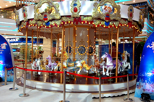 Vintage Christmas carousel for sale at discount price
