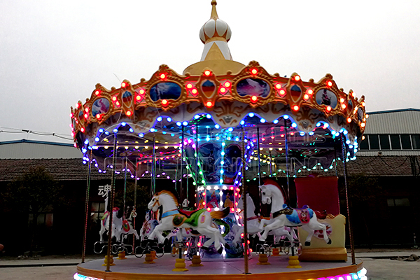 16 Seats Full Size Carousel Horse for Sale