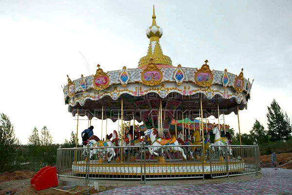 16 seats carousel horse rides for sale