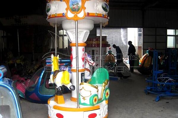 3 horses carousel for sale