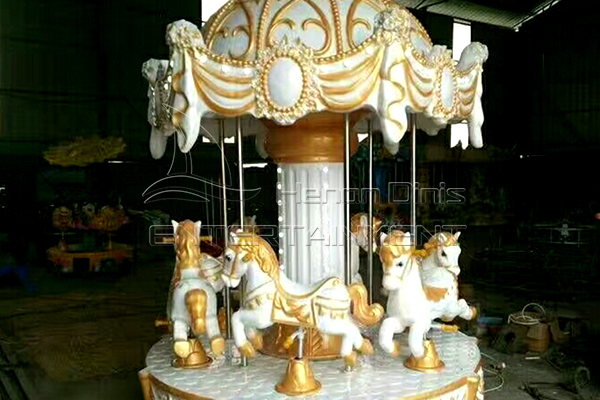 6 seats crown royal carousel horse ride for sale