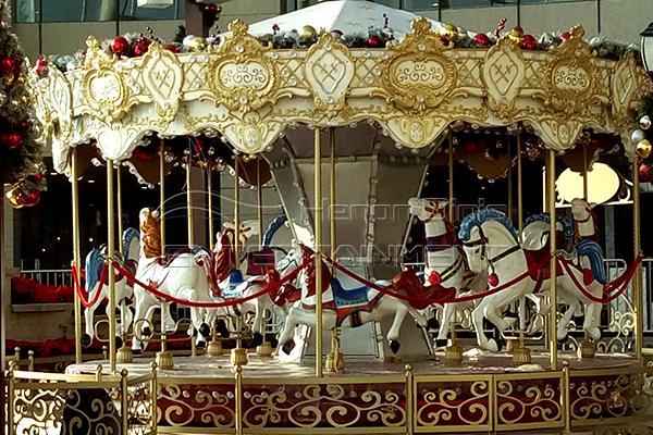 Amusement park vintage carousel for sale