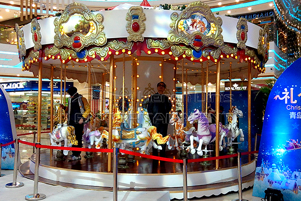 Carnival playground carousel horses for sale