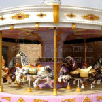 Amusement Park Merry Go Round  Sale