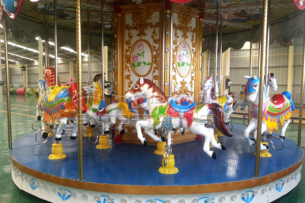 Coin operated ocean rotating horse for sale