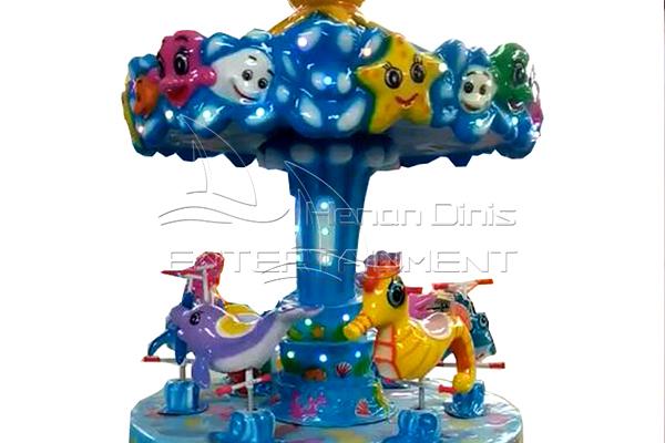 Dinis 3 horses ocean carousel for sale