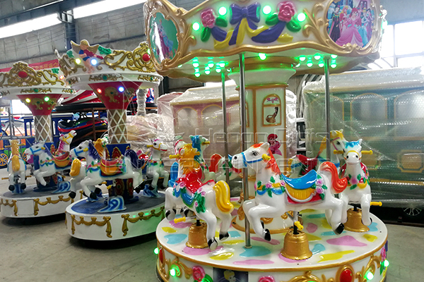 Dinis coin operated mini carnival carousel for sale
