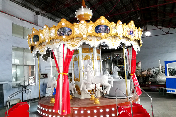 Dinis 9 seats antique carousel for indoor venue site