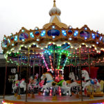Electric Christmas Carousel