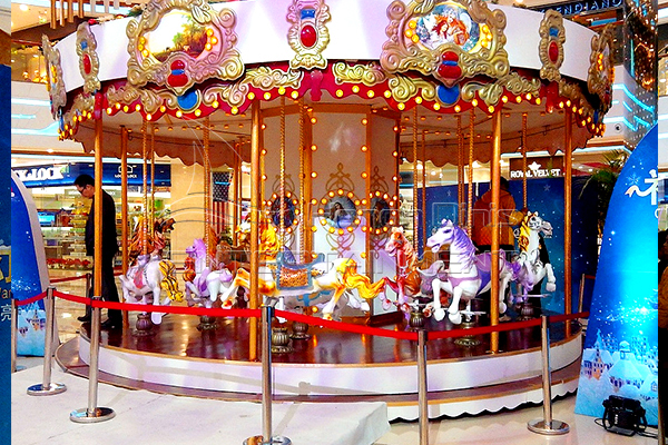 Dinis carnival cars merry go round rides