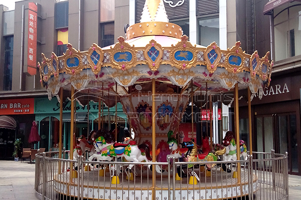 Dinis coin operated horse carousel