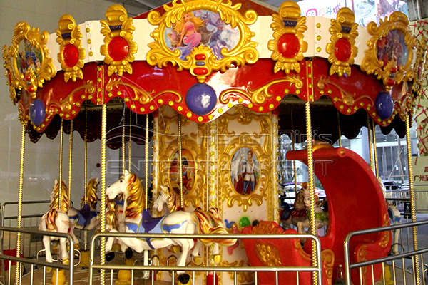 Dinis coin operated merry go round kiddie rides