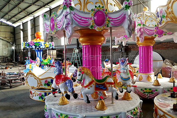 Dinis small crown carousel kiddie rides
