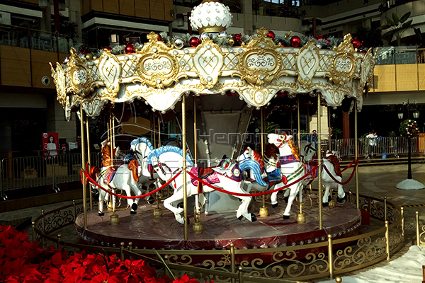 Dinis top sale large Xmas carousel for sale