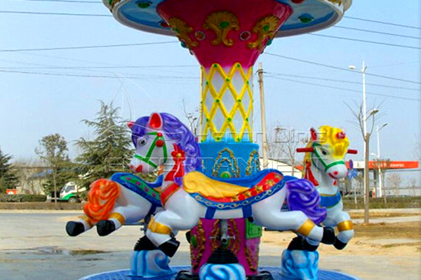 Electric 3 horses carousel is available in Dinis