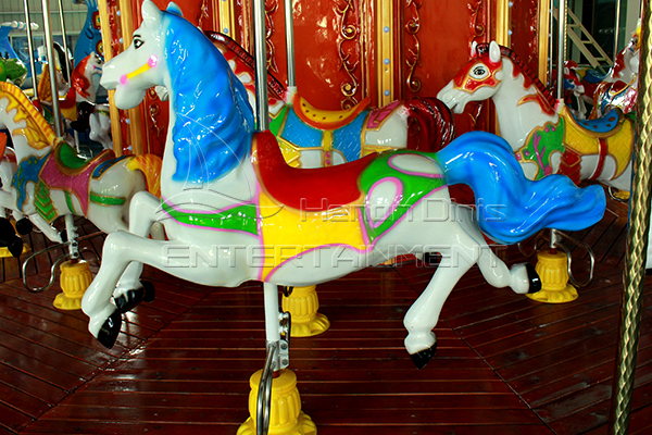 Full size holiday carousel kiddie rides for sale