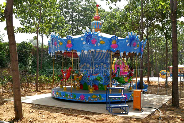 Mini holiday ocean carousel for sale