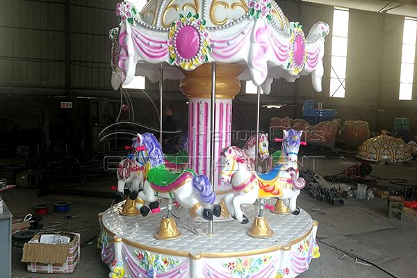 Royal antique fiberglass carousel for sale