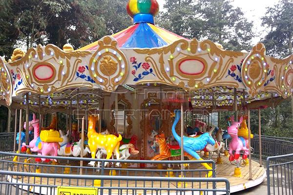 animal carousel for sale