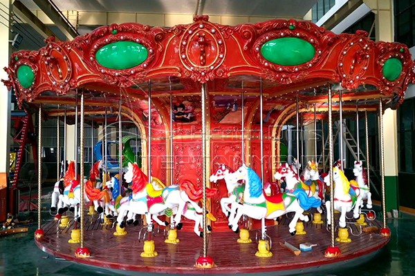luxury animal carousel for sale