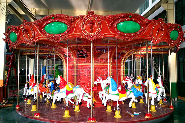 luxury carousel gardens halloween themed kids rides for sale