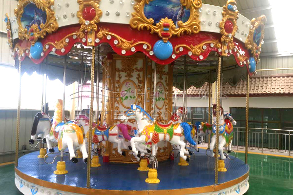 vintage carnival ride on horse is available in Dinis