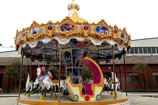 16 seats animal carousel is avaiable in Dinis