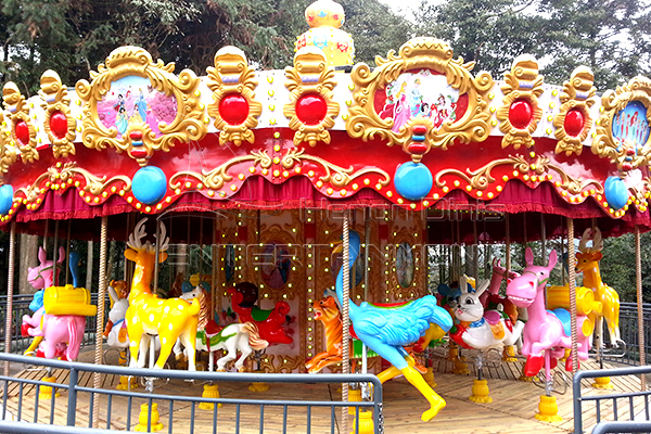 Dinis 36 horses large merry go round horse for sale