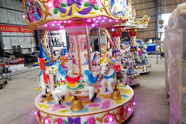 Dinis 6 seats Small Carousel Horse Rides for Sale