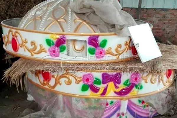 Dinis Popular Sale Carousel Horse Rides Decorations