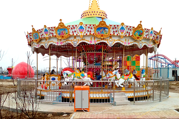 Dinis amusement park rotating horse for sale