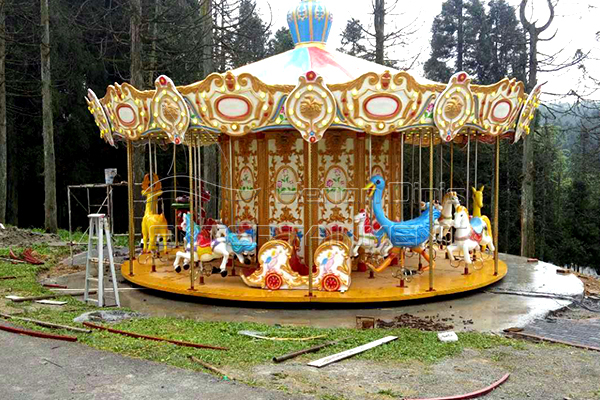 Dinis animal indoor merry go round rides for sale