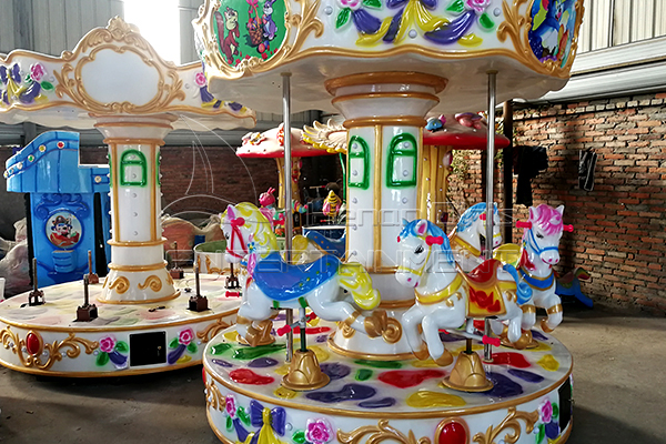 Dinis brand new style vintage mini carousel