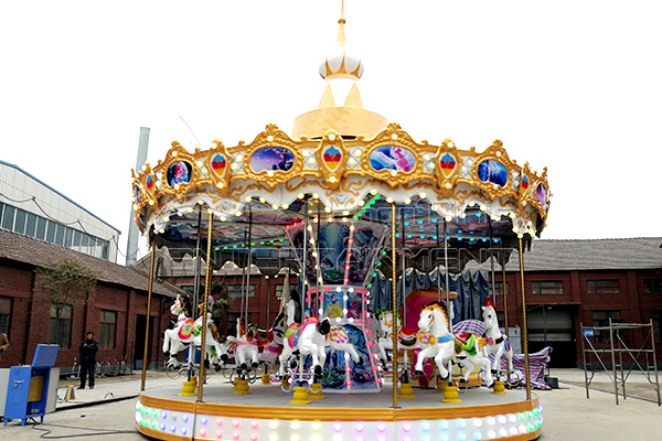 Dinis carnival riding merry go round horse pictures