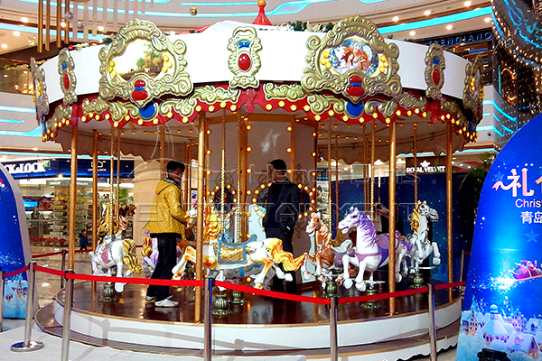 Dinis indoor playground carousel at discount price