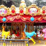 Large Carousel Horses