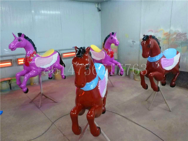 Dinis large unicorn carousel horse figurines for sale at affordable price