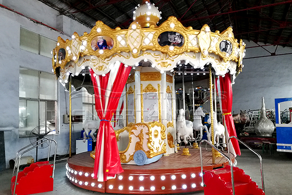 Dinis luxury Christmas carousel horse rides for sale