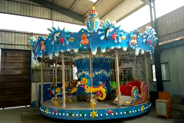 Dinis mini ocean zoo carousel kiddie ride