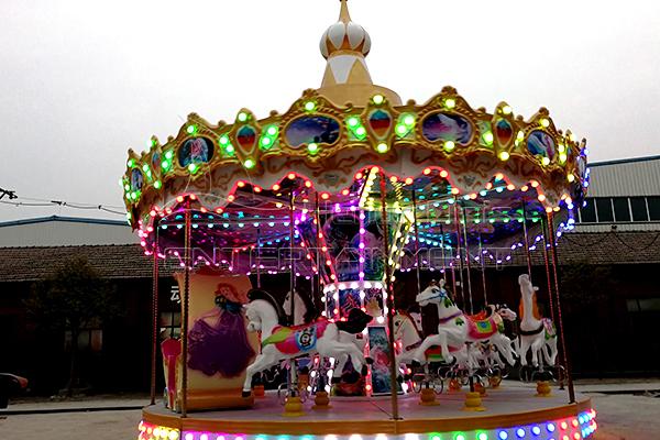 Dinis pony carousel cute kiddie ride