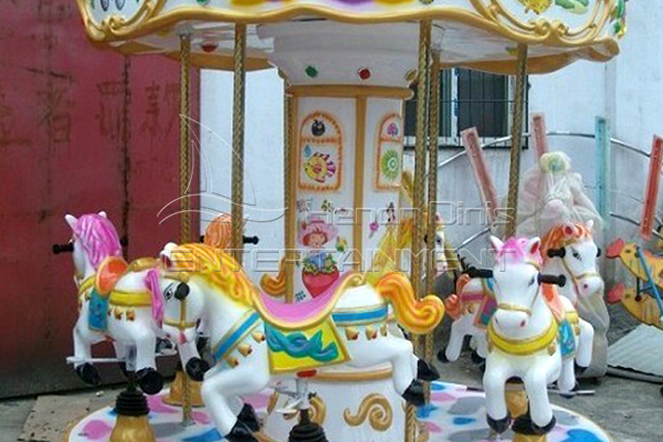 Dinis small indoor merry go round kiddie rides
