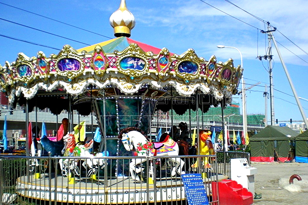 Dinis theme park merry go round for sale
