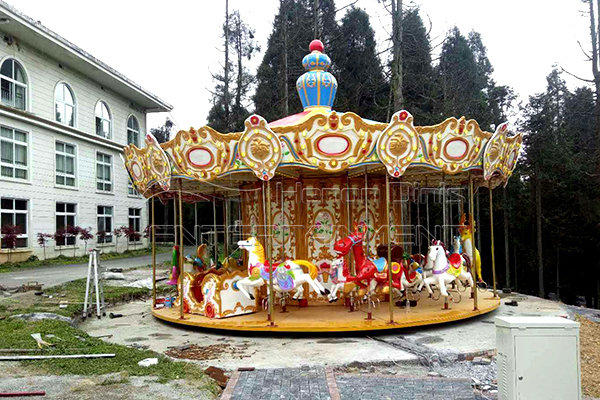 Dinis top sale cheap flying horse merry go round