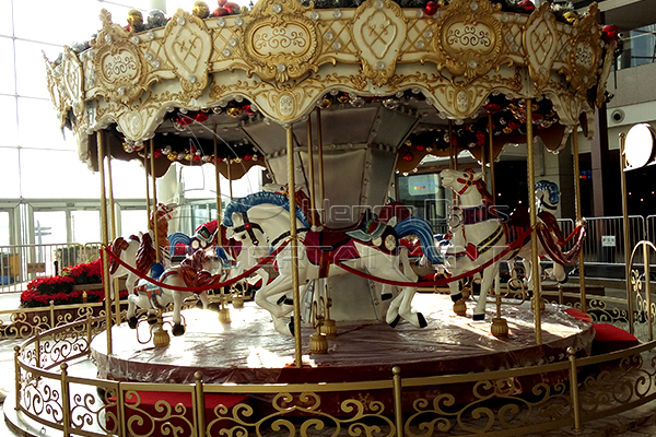 Dinischildren playground for sale carousel is available in our factory