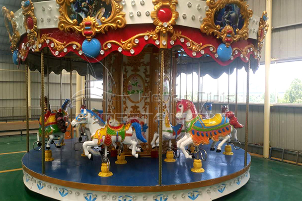 Kiddie carousel horse ride for sale cheap can be purchased in Dinis
