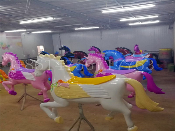 Unicorn Carousel Horse Rides for Sale