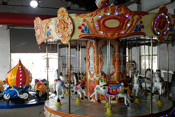 Vintage Carousel Horse Rides for Sale