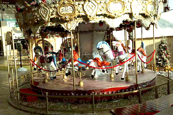 children royal carousel horse ride for sale