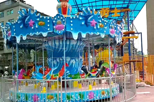 fair merry go round ocean themed kiddie is available in Dinis